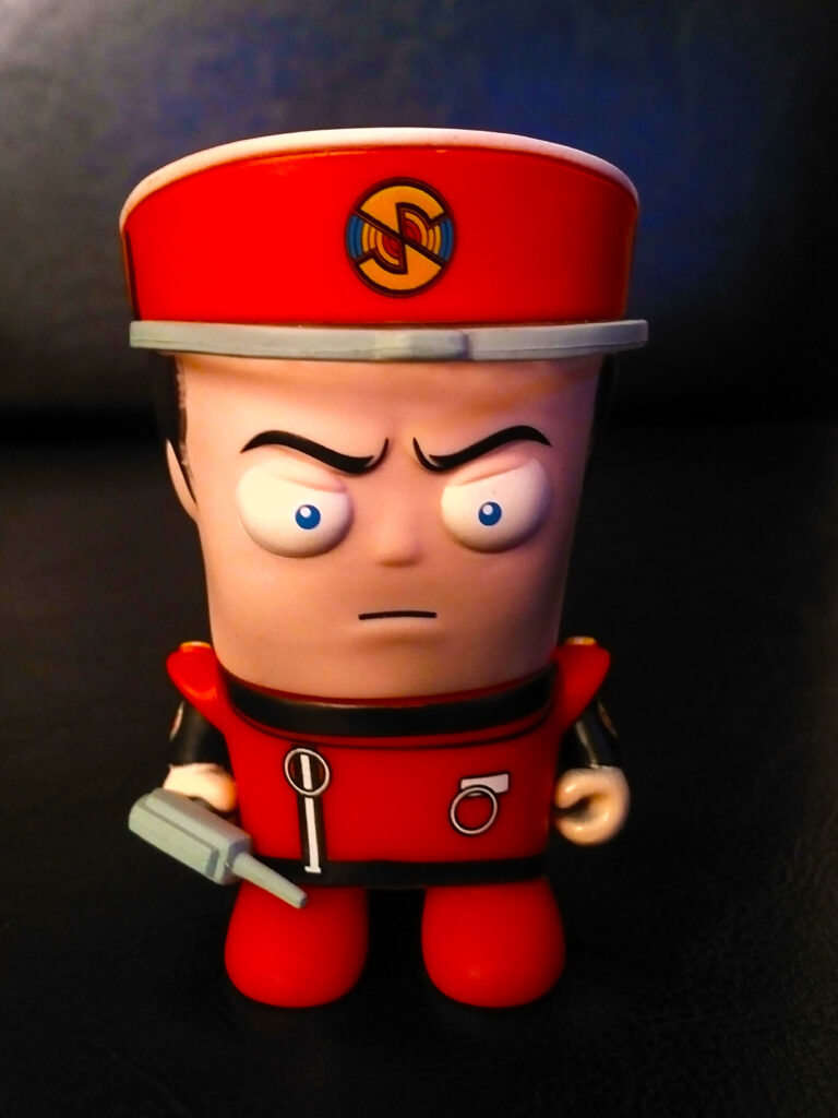 Captain Scarlet Figure - The Scariest Collectible Ever Made