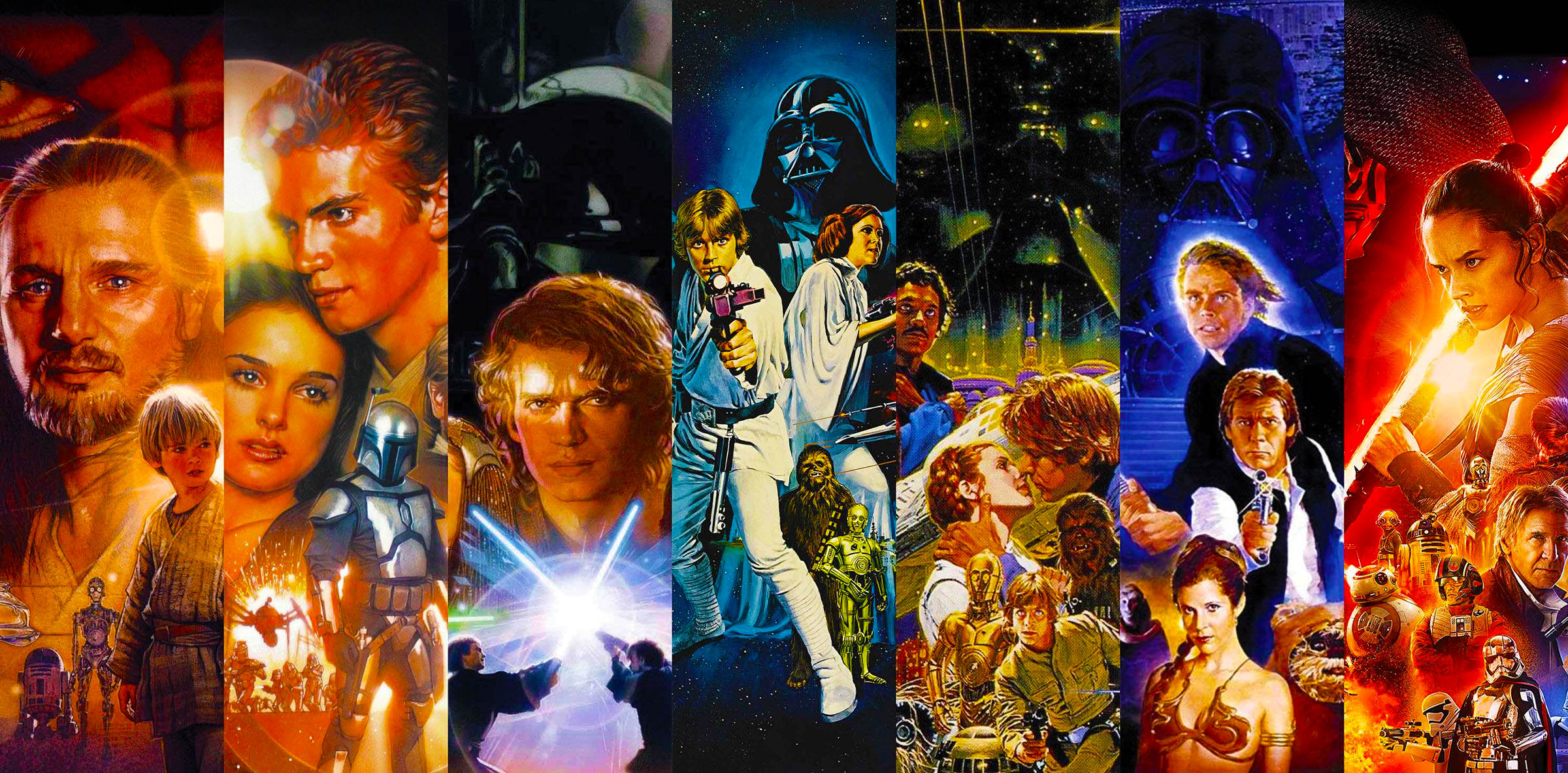 The 9 Star Wars Films Ranked