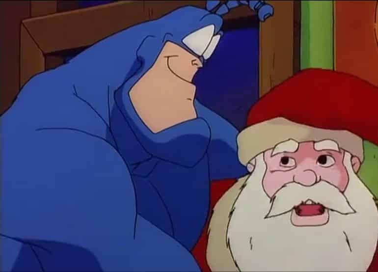 Tick Loves Santa
