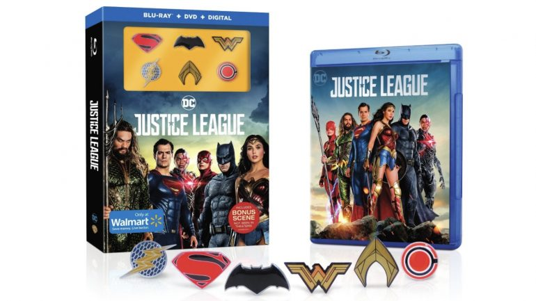 Justice League Blu-Ray