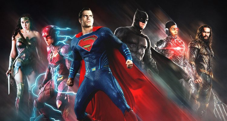 Justice League Blu-Ray and DVD