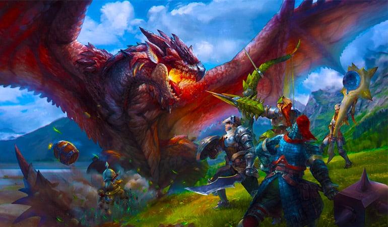 monster hunter world artwork