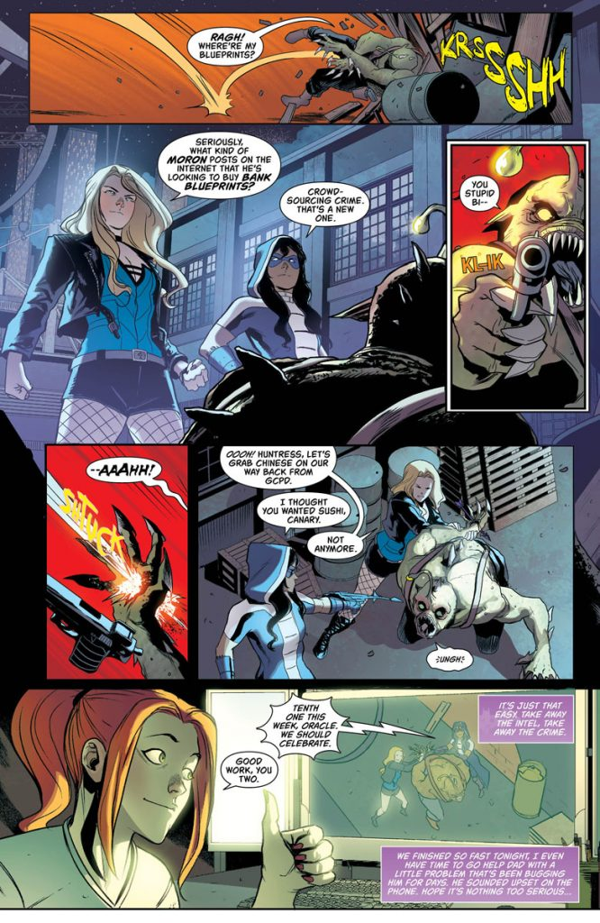 Batgirl And The Birds Of Prey #19 Review