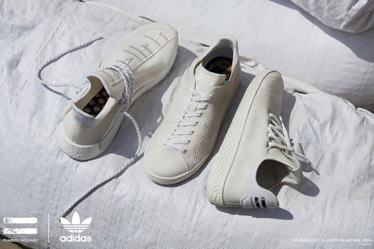 5dc6291cc Blank Canvas Pack by adidas Originals and Pharrell Williams Drop Hu Holi