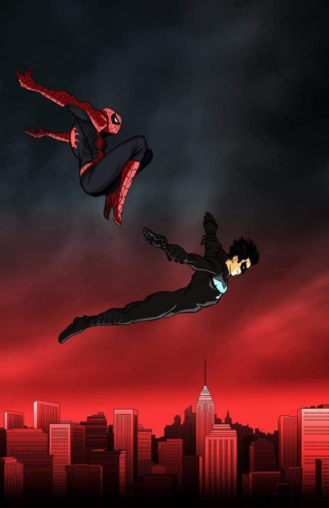 Nightwing Spider-Man