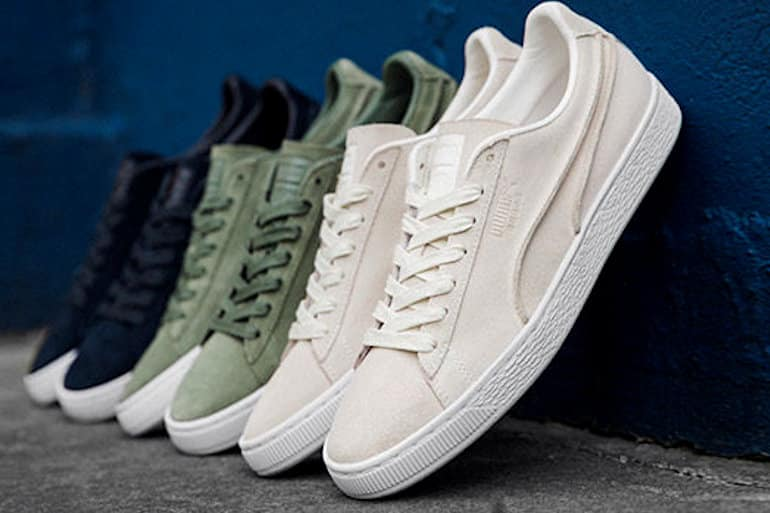 095fc898c2bd19 PUMA Celebrates Suede 50 With Embellished Pack And Exposed Seams