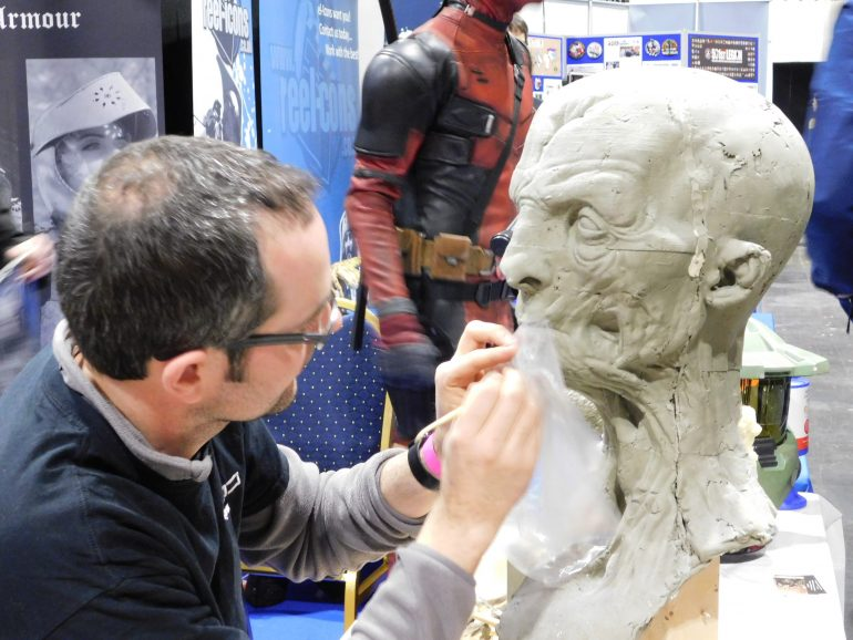 Sculptor Jon Berry from Claypolygon