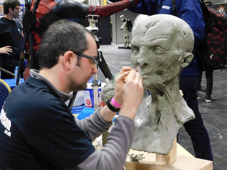 Sculptor Jon Berry from Claypolygon