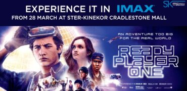 Cradlestone IMAX Ready Player One