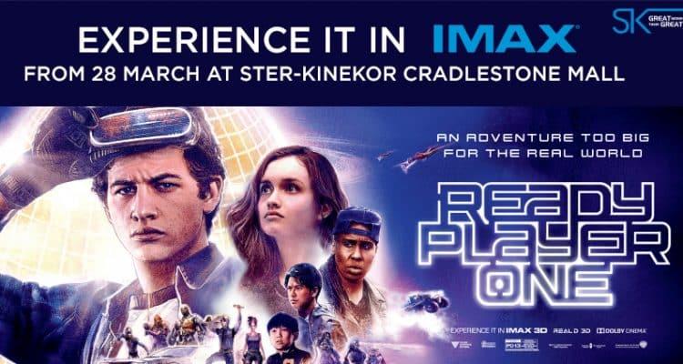 Cradlestone IMAX Ready Player One