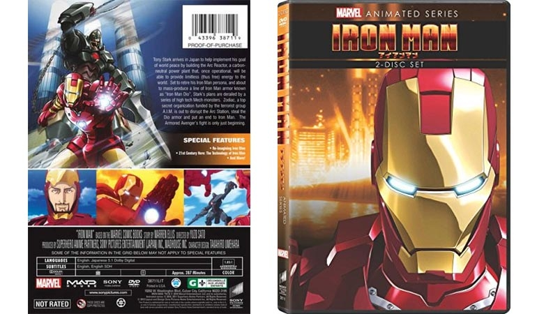 Iron Man Marvel Anime The Animated Series Review
