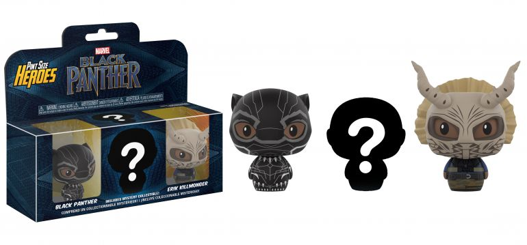 Pint Size Heros Black Panther-3PK- Group 1 Mystery