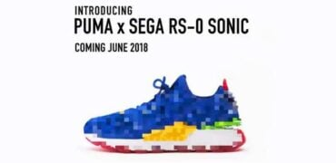 PUMA Teasers They're Collaboration With Sega For Sonic Sneaker