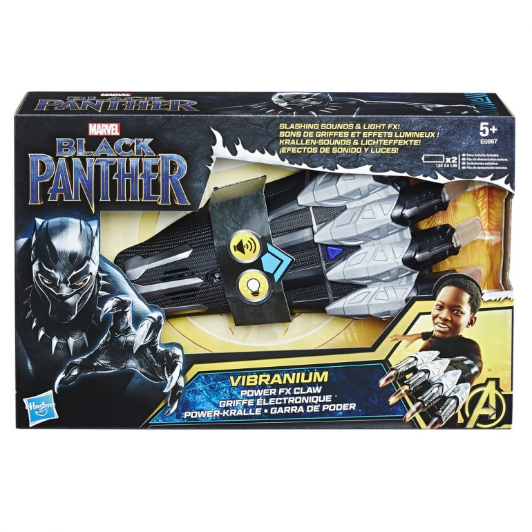 Hasbro Vibranium Power FX Claw