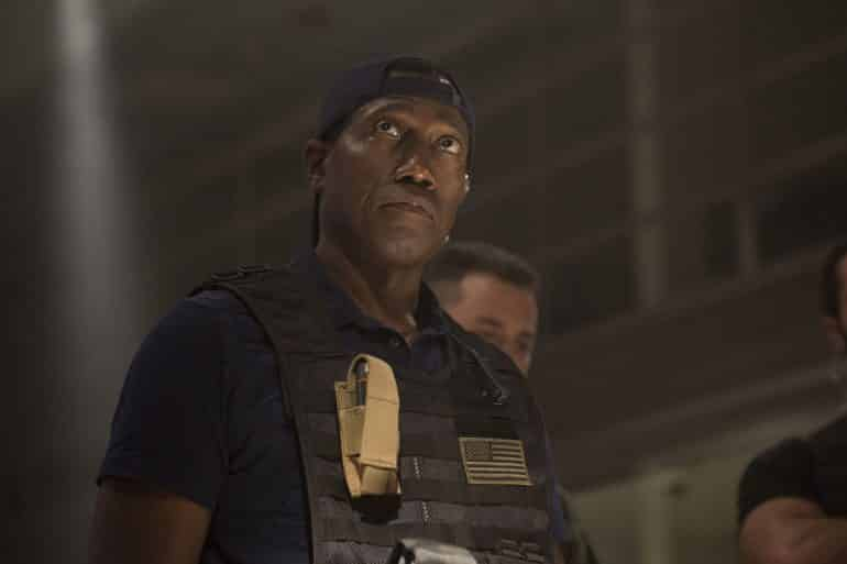 Wesley Snipes Armed Response