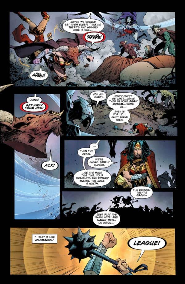 dark nights metal #6 comic book