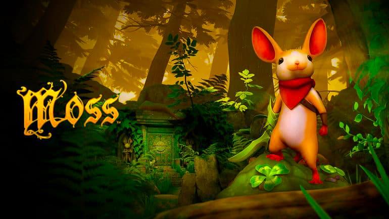 Moss Review – Small Hero, Big Heart