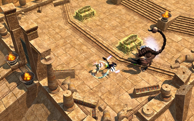 Titan Quest Review - Not Quite As Titanic