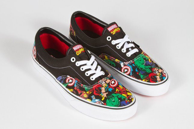vans adulte marvel