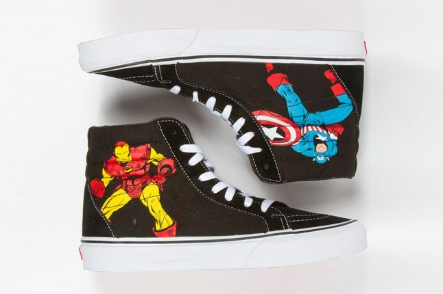 Upcoming Partnership Comics With Teases Marvel Vans iPukXZ