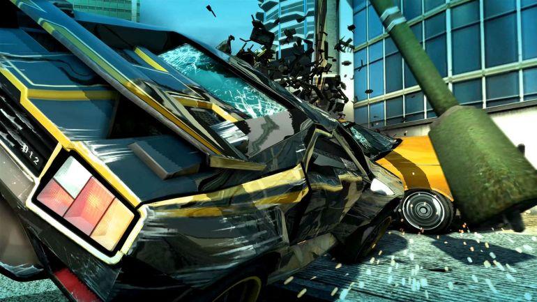 Burnout Paradise Remastered Crash