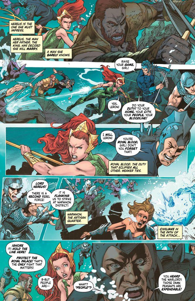 Mera Queen Of Atlantis #3