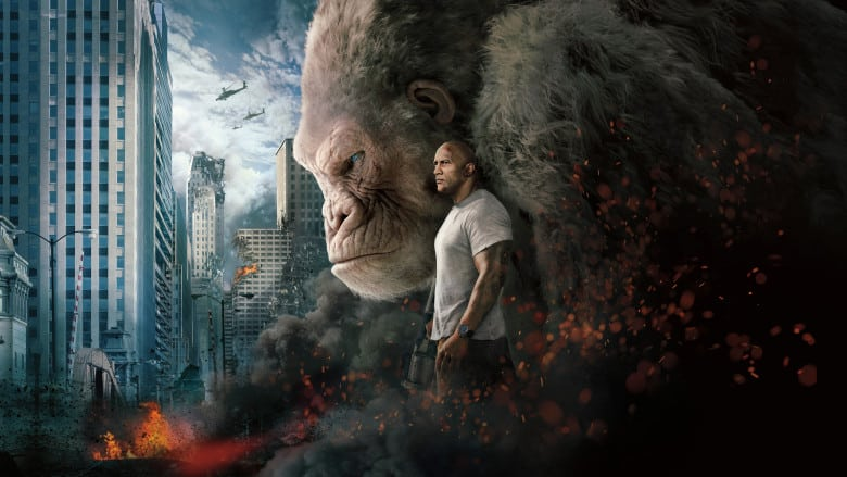 Rampage Review 2nd Opinion Over The Top Popcorn Flick