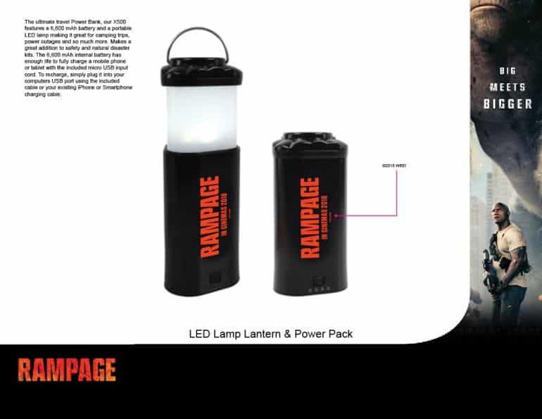 Rampage Lantern