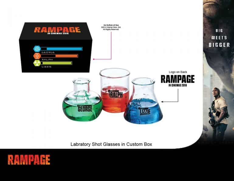 Rampage Shot Glasses