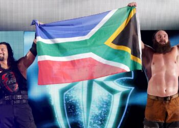 WWE Live South Africa – Roman Reigns and Braun Strowman