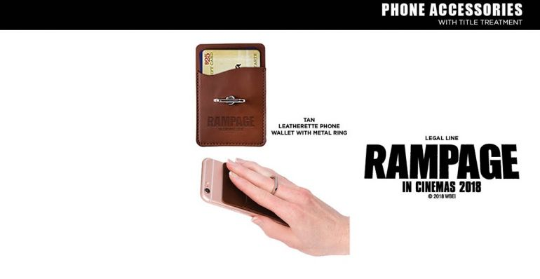 Rampage Leatherette Phone Wallet