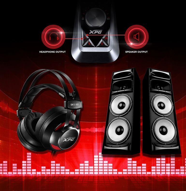 ADATA XPG Emix H30 And Solox F30 Gaming Headset Review