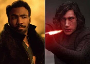 Childish Gambino Donald Glover Kylo Ren Darth Vader