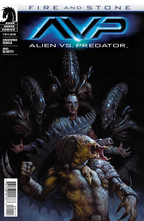 Fire And Stone - Alien vs Predator AVP