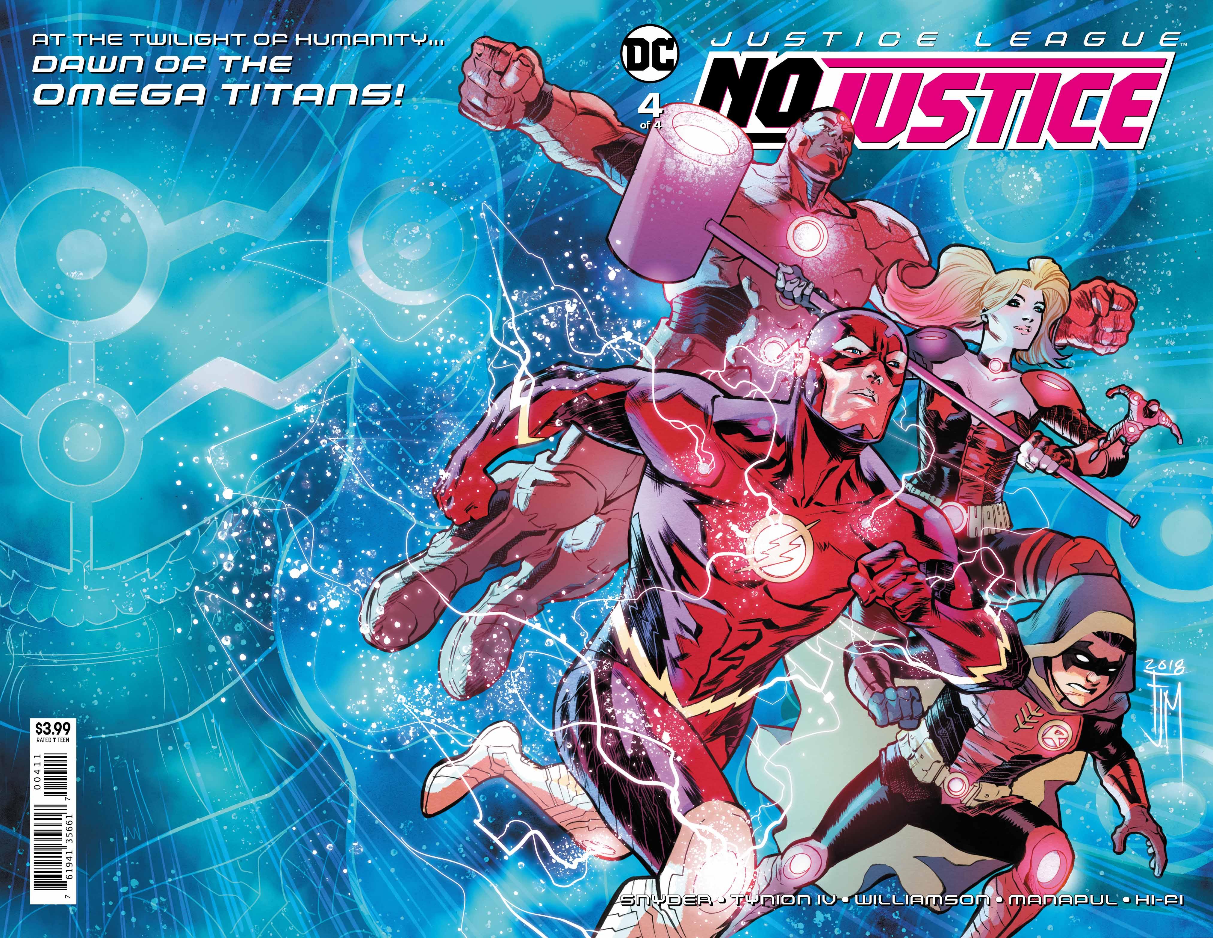 Justice League: No Justice #4 Review