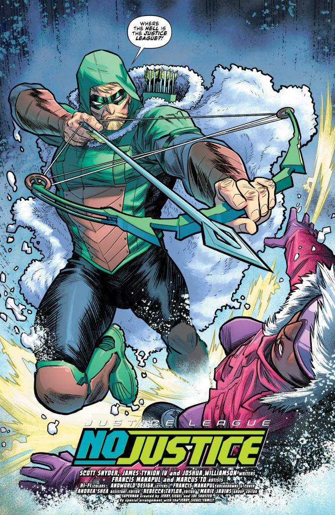 Justice League: No Justice #2 Review