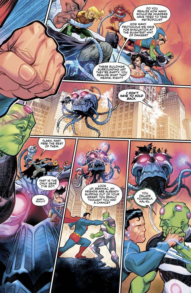 Justice League: No Justice #1 Review