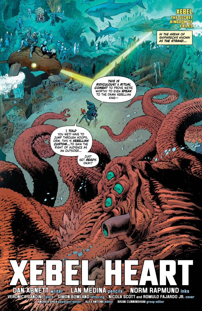 Mera, Queen of Atlantis #4 review