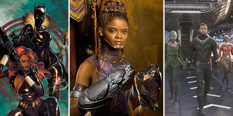 Shuri T'Challa little sister and technical wiz