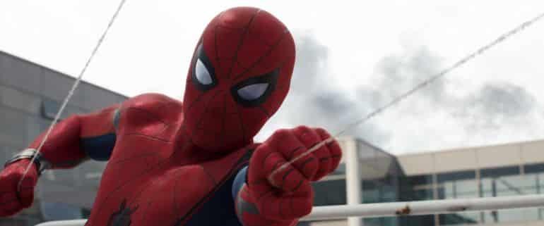 Tom Holland as Spider-Man in Captain America Civil War