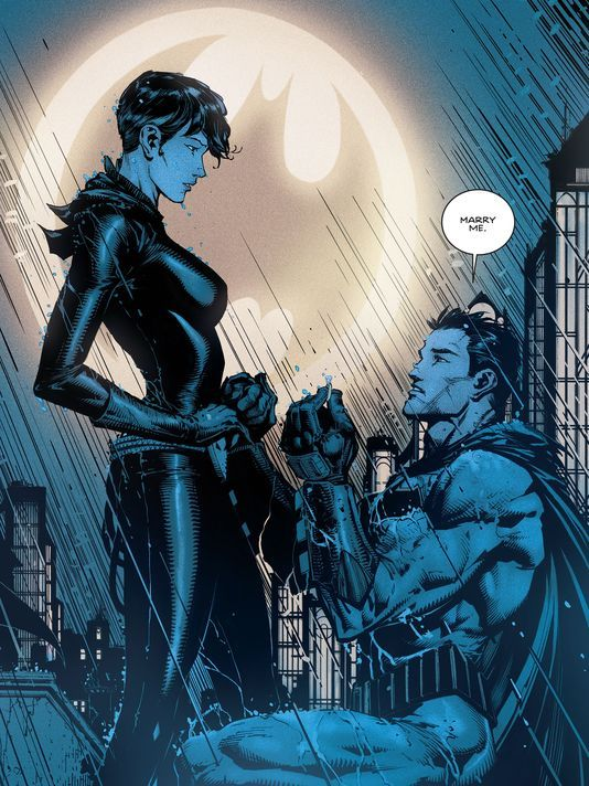 Batman and Catwoman Marriage