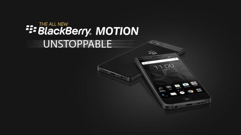 Blackberry Motion Unstoppable