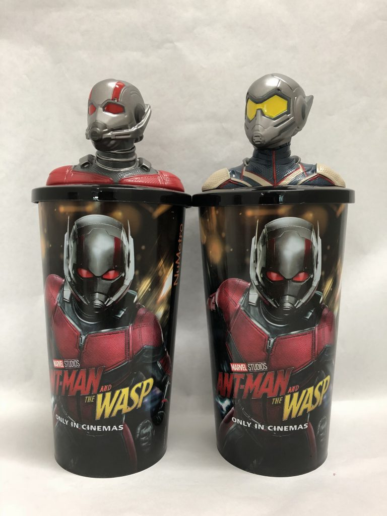 Nu Metro Brings Limited Edition Ant-Man And The Wasp Theatre Cup Toppers To South Africa