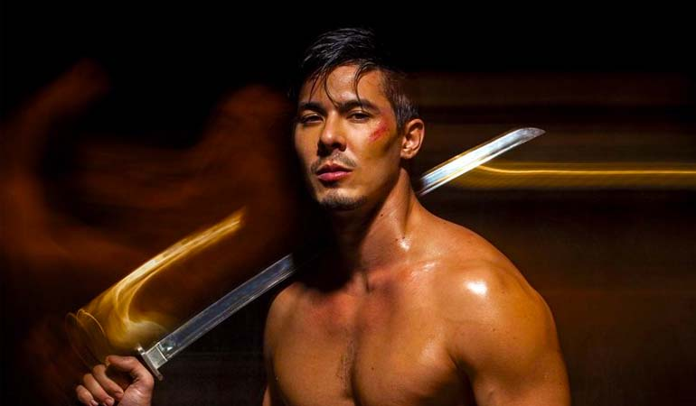 Lewis Tan Teases A DC Role