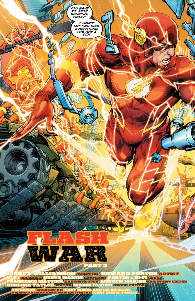 The Flash 49 Review