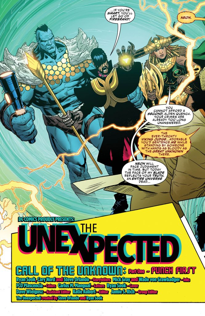 The Unexpected #1 Review