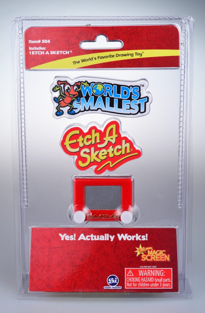 Ant-Man Sized Toys? Here Is The World's Smallest! Etch
