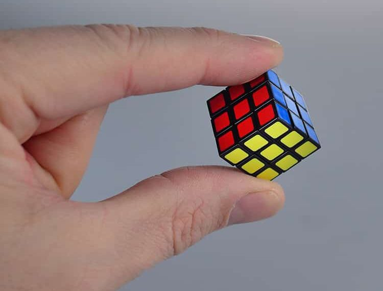 World's Smallest RUBIKS IN HAND