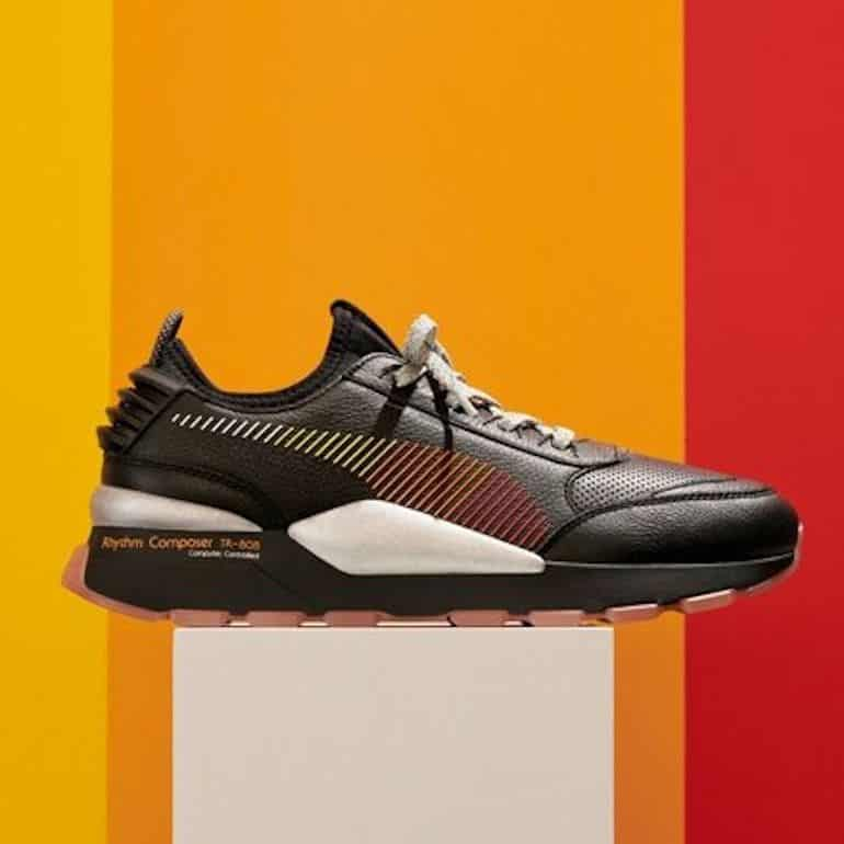 PUMA And Roland Announce TR-808-Inspired RS Sneakers