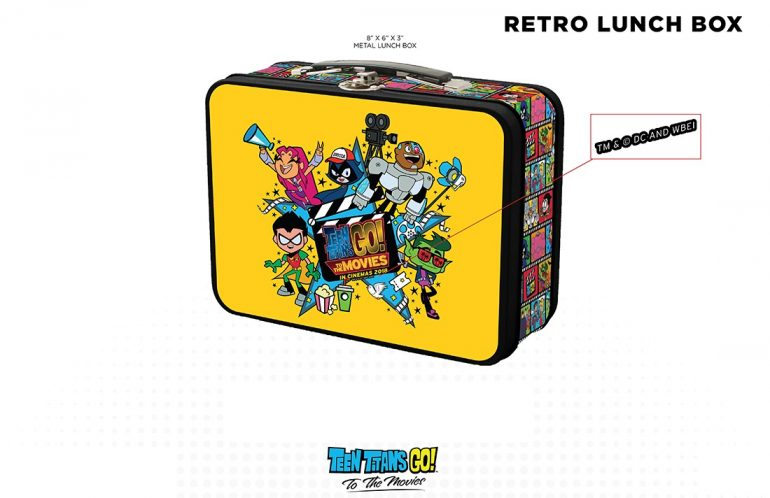 Win Awesome Teen Titans GO! To The Movies Merch!